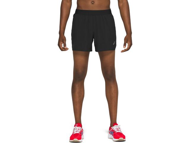 "asics Road 5"" Shorts Heren, zwart"